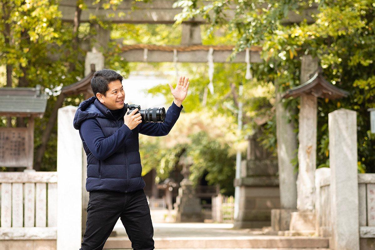 佐藤朗カメラマンによる撮影イメージ